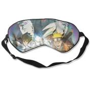 Naruto Obito Madara Natural Silk Eye Mask For Blocking Out Lights