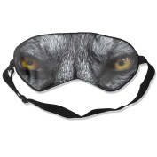 Wolf Eyes Natural Silk Eye Mask For Blocking Out Lights