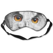 Smiling Owl Eyes Natural Silk Eye Sleep Mask For Travelling