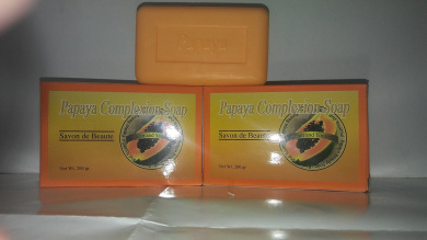 Papaya Complexion Soap For Men & Women, 210ml ~Free Gift With Order~