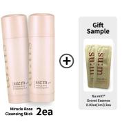 [su:m37º] Su:m37 Miracle Rose Cleansing Stick 2.82oz(80g) 2ea + Secret Essence 0.03oz(1ml) 2ea