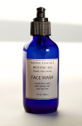 Honey Oat Tea Tree Acne Face Wash With Calendula And Cucumber Hydrosols And Botanicals Extracts 120ml - Mild Formula For Sensitive Skin