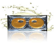 24 Karat Gold Face Facial Eye Mask, Look Younger and Rejuvenated In Minutes, Intense Hydration, Collagen, and Peptides Energise Skin While Reducing Fine Lines and Wrinkles