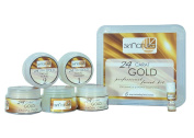 SKINATURA 24 CARAT GOLD PROFFESSIONAL FACIAL KIT (Pack of 6) SD - With Complementary Gifts!!