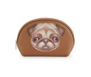 Love Moschino I Love Puppy Cosmetic Case, Pug