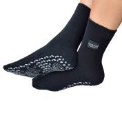 Medipaq Self Heating Magnetic Tourmaline Therapy Health Socks 1X Pair - Black