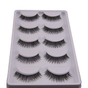. 5 Pair False Eyelashes,Canserin Natural Look Voluminous Extension Makeup
