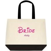 Heartfelt Hospitality Pink Bride Fairytale personalised Wedding Planning Bride Tote Bag