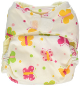 Imagine Baby Products Rayon From Bamboo All-In-One Hook and Loop Nappy, Flutter