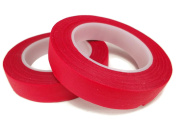 Floral Tape Red 4 Rolls 30 Yards Foral Light Glue Cohesive 12 mm Pair Artificial Flower Stem Tool
