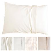 Toddler Pillow Case. No Dyeing, No Printing, 100% Organic - Global Organic Textile Standard - Certified unbleached Natural Organic Cotton. (Natural Basic) Toddler PillowCase