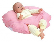 Leachco Cuddle-U - Nursing Pillow And More - Pink Pin Dot New