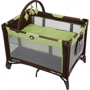 Pack n' Play Playard with Bassinet in Go Green JPMA Certified For Safety