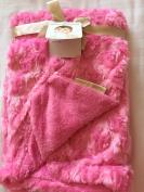 Blankets & Beyond Super Soft rosette Baby blanket