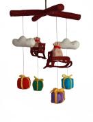 Silk Road Bazaar Mobile, Santa's Sleigh/Multicoloured, 0-3 Years