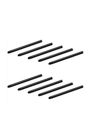 10 Pack Replacement of Pen Standard Black Nibs fit Wacom Bamboo & Intuos