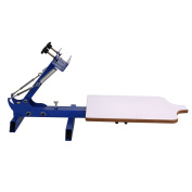 Single Colour T-shirt Screen Printing Machine NS101 Simple