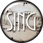 Snap button Music Sing 18mm Cabochon chunk charm