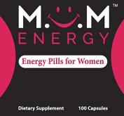 MOM ENERGY - Energy Pills for Women 100 Capsules