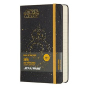 Moleskine Limited Edition Star Wars, 12 Month Daily Planner, Pocket, BB-8