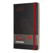 Moleskine Limited Edition Star Wars, 12 Month Weekly Planner, Large, Darth Vader
