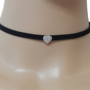 Choker Boho Necklace Sterling CZ Charm - Gift Boxed - GREAT GIFT