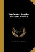 Handbook of Canadian Literature