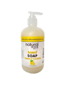 Natural Home Citrus Hand Soap, 350ml, Yellow