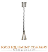 1Retractable Stainless Steel Hanging Heat Lamp Size