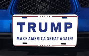 Donald Trump for President Aluminium Licence Plate for Car Truck Vehicles