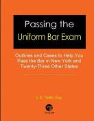 Passing the Uniform Bar Exam
