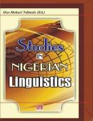 Studies in Nigerian Linguistics