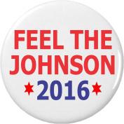 Feel The Johnson 2016 (Gary Vote Support) 5.7cm Bottle Opener w/ Keyring