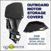 Oceansouth Custom Fit Storage Covers for Suzuki V6 DF200, DF225, DF250, DF250SS