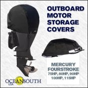 Oceansouth Custom Fit Storage Covers for Mercury Fourstroke 135HP, 150HP