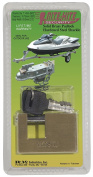 RITE-HITE Trailer Hitch Lock - Protects Your Trailer with Heavy Duty Brass Lock Designed to Prevent Theft. Great for Boat Trailers