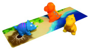 Tubby Table Dinosaurs! Activity Mat and Toys