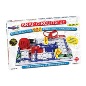 Elenco Electronic Snap Circuits Jr. with 30 different and clearly identified electronic components