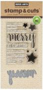 Hero Arts Merry Stamp & Cut Die