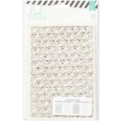 Heidi Swapp Wanderlust Lace Paper Pack, 13cm x 18cm