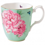 Royal Albert Friendship Vintage Mug Designed by Miranda Kerr, 400ml, Green by Royal Albert
