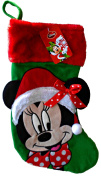 Disney Minnie Mouse 46cm Inch Big Face Christmas Stocking
