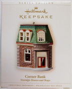 HALLMARK KEEPSAKE CORNER BANK NOSTALGIC HOUSES AND SHOPS 2006