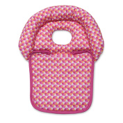 Boppy Noggin Nest Head Support Tiny Triangles, Pink