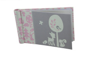 """Baby Photo Album 4 x 6 Brag Book """"Woodland Baby Girl"""" - Baby Shower Gifts, - Holds 24 Precious Photos, Acid-free Pages"""