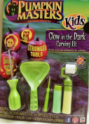 Pumpkin Masters America's Favourite Kids Glow in the Dark Carving Kit Now with Stronger Tools