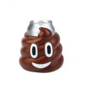BigMouth Inc Poop Emoji Drink Kooler