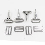 304 Stainless Steel Snaps Hooks and Sliders for 2.5cm Straps, Bimini Top Boat top