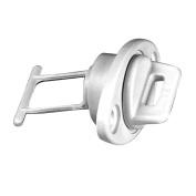 Beckson 2.5cm Drain Plug Screw Type w/Gasket - White