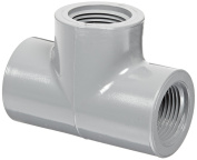 Spears 805-C Series CPVC Pipe Fitting, Tee, Schedule 80, 1.9cm NPT Female